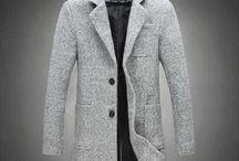 płaszcz szary