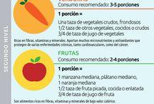 Nutricion y salud / by Noemy Quiros