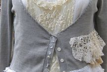 Lace love it / Fabric and things with lace