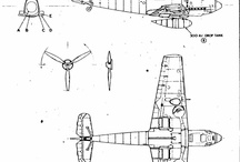 WW II Airplanes Blueprints