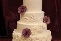 Wedding Cakes with Rosettes