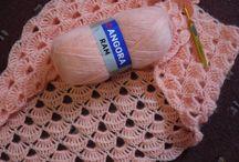 crochet colchitas y mantas de apego