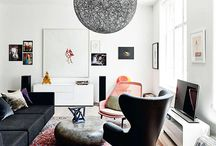 Modern Decor + Persian/Oriantal rugs