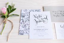 Wedding Invitations / by Alexandra Tuck