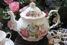 tea and teapots / by Sue Gorman