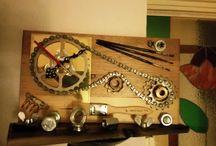 clockwork orange, gewoon wat klokken / het maken en ontwerpen van klokken...