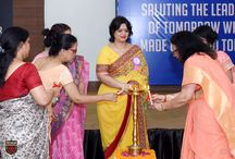 THE ANNUAL ACADEMIC EXCELLENCE CEREMONY HELD AT PRESIDIUM / Presidians were acknowledged for their outstanding achievements in the Annual Academic Excellence Ceremony, by the Hon'ble Chairperson, Mrs. Sudha Gupta. They were felicitated with Overall Excellence, Subject Excellence and 100% attendance awards for the session 2015-16. The students with exceptional results in the board examinations were also recognized at the event.
