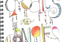Handwriting & Fonts / by Brandy Gottlieb Coble