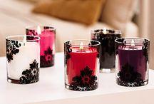 sabrina / décoration et bougies parfumées Partylite