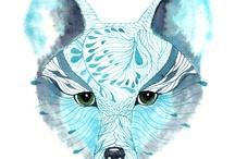 wArtP Blue fox