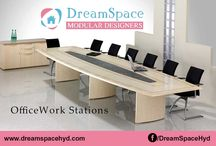 Office Work Stations / Planning &Creative Interior Design is the key to an inspiring office environment.