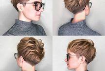 Korta frisyrer