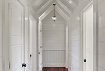 wood paneled interiors