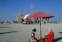 Burning Man In the Middle of Nowhere