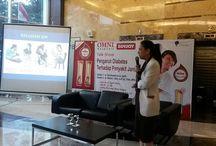 Talk Show Pengaruh Diabetes terhadap Penyakit Jantung / OMNI Hospital Alam Sutera - mengadakan kembali seminar awam yang diselenggarakan di Lobby Utama, pada jumat pagi (17/4).