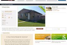 My website / Real estate website