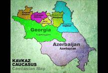 Kavkaz sila - Кавказ Сила / Caucasian Map - Kavkaz Karta - Qafqaz Xeritesi