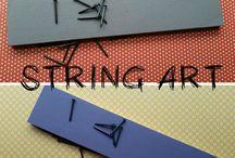 DIY - STRING ART / String Art o Cuadros con clavos