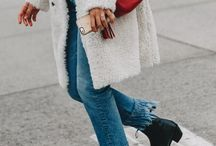 FRINGED DENIM