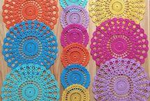 Individuales a crochet