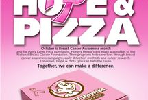 """Love, Hope & Pizza / Love, Hope & Pizza has raised well over $1 million for the National Breast Cancer Foundation (NBCF) over the past five years. """"Hungry Howie's has put their heart and soul into Love, Hope & Pizza,"""" said NBCF Founder & CEO Janelle Hail. """"The funds have helped provide tens of thousands of free early detection services for women in need in all 50 states."""