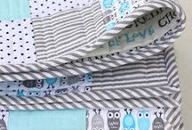 Baby quilts + lovely items