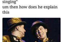 Dan and Phil ( Senpai)