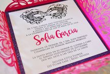 Quinceanera Invitations by Stylish Scribe