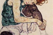 Egon Schielle paintings