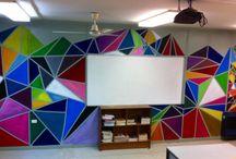 Art - murals / Wall art. Collaborative.