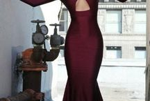 Formal Fashions - High Collar Gowns