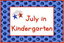 July in Kindergarten / July, a hot, hot month in most places!  But it's never too hot to celebrate the special days of July such as Independence Day on the 4th, National Ice Cream Day on the 3rd Sunday, Canada Day on the 1st, and who can forget National Hot Dog Day on the 23rd?  Pin up to 3 pins per day for the month of July.  If you would like to pin to this board, please send a message to Lmburns2@gmail.com.   / by KinderLit