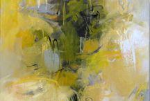 abstrakce olej