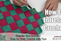 Entrentrelac crochet afghan (how to do it)