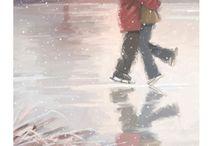 Art - Snow Kiss Romance