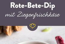 Rezepte: Dips und Aufstriche / Vegetarisch und vegan. Leckere Dips und Aufstriche einfach selber machen. Guten Appetit!