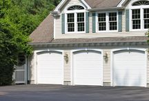 Modern Garage Doors / The Emerald and Jade collections offer a modern appearance compatible with many varieties of homes.
