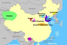 China - wine regions