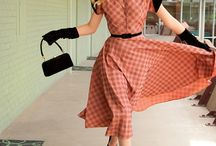 Vintage Fashion (1930-1960) / Clothes and fashion, jewelry and accessories from 1930-1960!