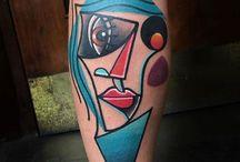 tattoo cubism