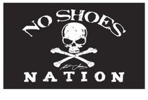 """""""No shoes nation"""" party"""