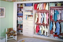 Kids Closets / One of the many advantages of using Closettec in your child's room is that everything can be adjusted as your child grows.  Go from infant to teen to adult by simply adjusting shelves and rods by hand.