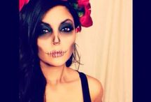 make caveira mexicana