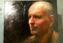 Steven Assael / American painter.  Born  in New York City. 1957.