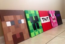Minecraft kids room