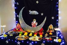 pooja decor theme