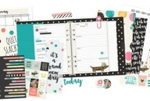 Carpe Diem Planner / We are so excited to add Simple Stories' Carpe Diem Planner & Supplies to our Online Boutique.
