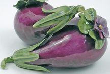 glass - fruit & vegetables