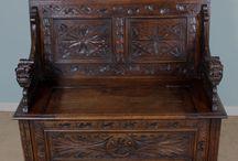 Antique Oak Furniture / Antique Oak Furniture
