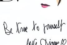 Diane von Furstenberg / Be true to yourself ! love Diane / by Diane von Furstenberg